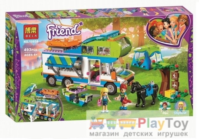 "Конструктор Bela ""Friends"" (10858) Дом на колесах - Аналог Lego (Лего"