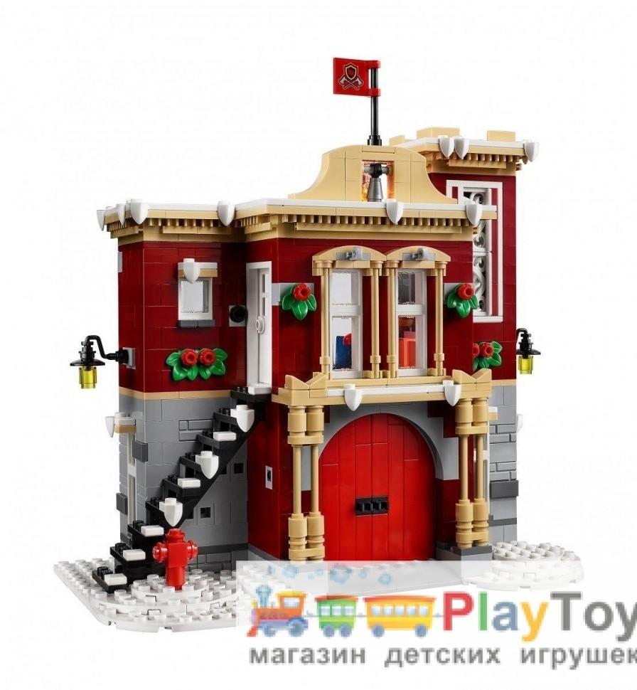 Конструктор аналог лего пожарная