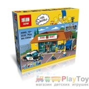 "Конструктор Lepin ""Simpsons"" (16004) Супермаркет Квик-И-Март, 2232 детали - Аналог Lego (Лего) Симпсоны 71016"