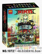 "Конструктор Bela ""Ninjago Movie"" (10727) Ниндзяго Сити, 5041 деталь - Аналог Lego 70620"
